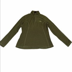 North Face 1/4 zip size M